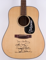 """Eagles"" Takamine Acoustic Guitar Signed by All (4) with Timothy B. Schmit, Don Henley, Glenn Frey & Joe Walsh (JSA ALOA)"