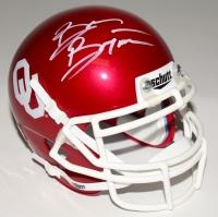 Brian Bosworth Signed Oklahoma Sooners Mini-Helmet (Radtke COA)