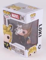 """Stan Lee Signed """"Loki"""" Marvel POP! Vinyl Figure (Radtke COA & Lee Hologram)"""
