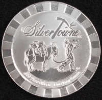 SilverTowne Prospector 1 Troy Oz. Fine Silver Stackable Round at PristineAuction.com