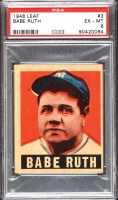 1948 Leaf #3 Babe Ruth (PSA 6)