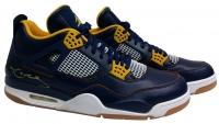 Kobe Bryant Signed Pair of (2) Air Jordan IV Retro Basketball Shoes (JSA LOA)