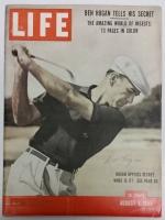 Ben Hogan Signed 1955 LIFE Magazine (PSA LOA)