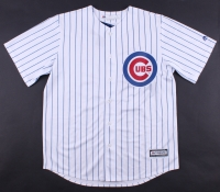 Dexter Fowler Signed Cubs Authentic Majestic Cool Base Jersey (Beckett Hologram) at PristineAuction.com