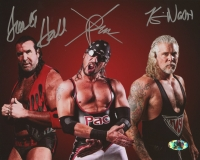 "Kevin Nash, Sean ""X-Pac"" Waltman, &  Scott Hall Signed WWE 8x10 Photo (MAB Hologram)"