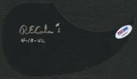 "Richard E. Cole Signed Acoustic Guitar Pickguard Inscribed ""4-18-42"" (PSA COA)"