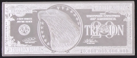 $20 Trillion Dollars Silver Bullion Bar from Highland Mint