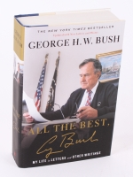 """George H.W. Bush Signed """"All The Best, George Bush"""" LE Hardback Book (Premier Collectibles COA) at PristineAuction.com"""