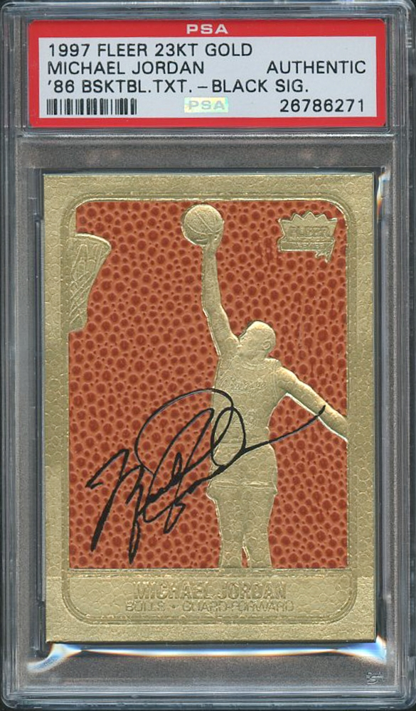 Michael Jordan 1997 Fleer Rookie Feel The Game Limited ...