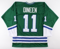 Kevin Dineen Signed Whalers Jersey (Beckett COA)