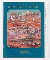 "Pat Day Signed Official 1992 Kentucky Derby Program Inscribed ""Lil E Tee"" (MAB)"