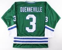Joel Quenneville Signed Whalers Jersey (Beckett COA)