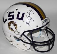Leonard Fournette Signed LSU Tigers Full-Size Helmet (JSA COA)