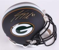 Jordy Nelson Signed Packers Full-Size Authentic Black Matte Pro-Line Helmet (Radtke Hologram)