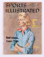 "Carin Cone Signed 1960 Sports Illustrated Magazine Inscribed ""Best Wishes"" (JSA COA)"