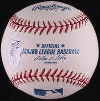 Eric Chavez Signed OML Baseball (JSA COA) at PristineAuction.com