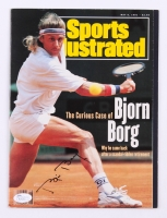 Bjorn Borg Signed 1991 Sports Illustrated Magazine (JSA COA)