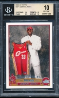 2003-04 Topps #221 LeBron James RC (BGS 10)