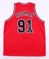 Dennis Rodman Signed Bulls Jersey (JSA COA) at PristineAuction.com