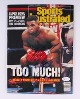 Mike Tyson Signed 1988 Sports Illustrated Magazine (JSA COA)