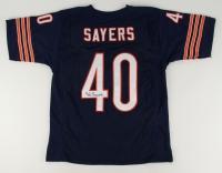 Gale Sayers Signed Bears Jersey (JSA COA)