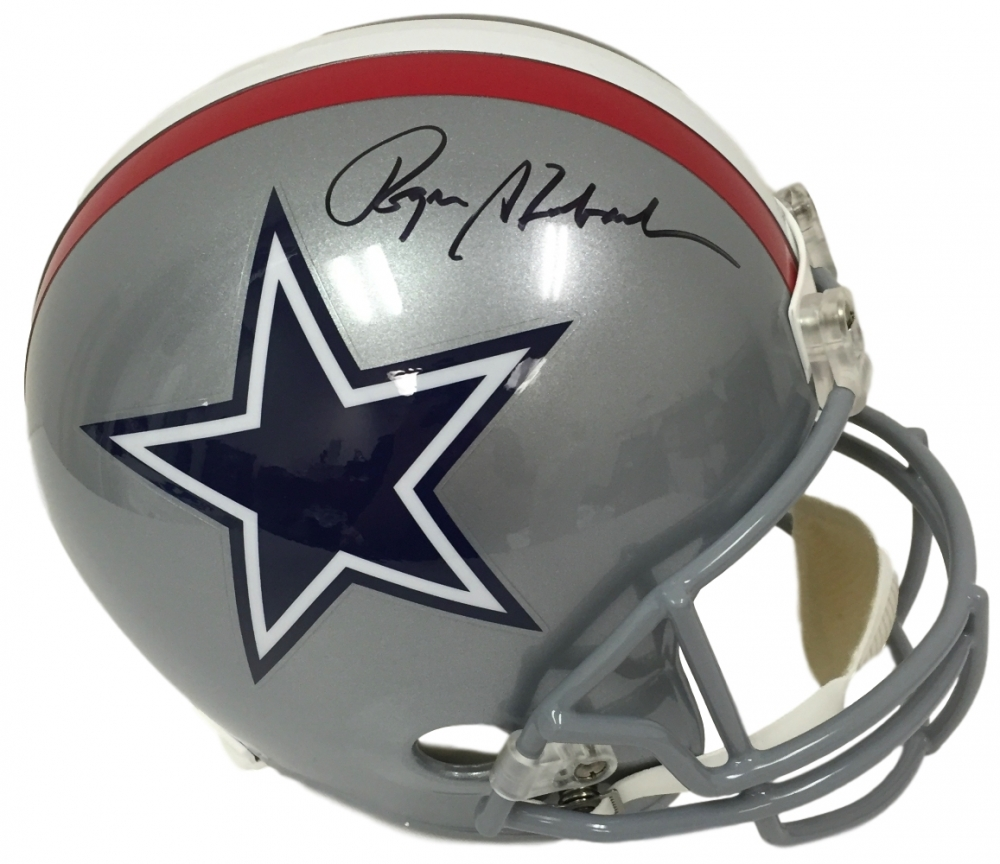 9b1713b5c Roger Staubach Signed Cowboys Full-Size Helmet (JSA COA) at  PristineAuction.com