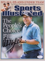 Phil Mickelson Signed Sports Illustrated Magazine (JSA COA)