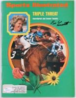 Ron Turcotte Signed 1973 Sports Illustrated Magazine (JSA COA)