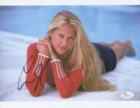 """Anna Kournikova Signed 8.5"""" x 11"""" Photo (JSA COA)"""