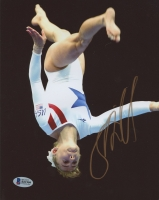 Shannon Miller Signed 8x10 Photo (Beckett COA)