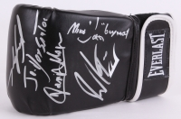 UFC Glove Signed by (5) with Jose Aldo, Junior Dos Santos, Vinny Magalhaes, & Michael 'Joker' Guymon (JSA COA)