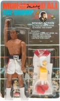 "Muhammad Ali Signed Vintage 1976 ""The Champ"" Mego Large Action Figure (JSA ALOA)"