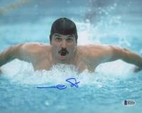 Mark Spitz Signed 8x10 Photo (Beckett COA)