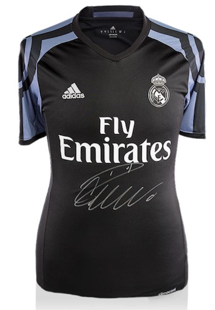 1dc580f8457 Cristiano Ronaldo Signed Real Madrid Authentic Adidas Soccer Jersey (Ronaldo  COA)