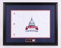"Rory McIlroy Signed ""US Open Congressional"" 28.5""x 22.5"" Custom Framed Golf Flag Display (JSA ALOA)"
