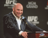 Dana White Signed 8x10 Photo (Beckett COA)
