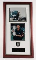 "Payne Stewart Signed US Open 17""x 32""x 3.5"" Custom Framed Golfball Shadowbox Display (JSA ALOA)"