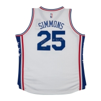 "Ben Simmons Signed Philadelphia 76ers Jersey Inscribed ""#1 Pick 2016"" (UDA COA) at PristineAuction.com"