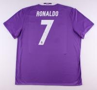 Cristiano Ronaldo Signed Real Madrid Adidas Climacool Soccer Jersey (Ronaldo COA)