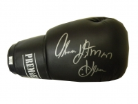 "Thomas ""Hitman"" Hearns Signed Premier Boxing Glove (PSA COA)"