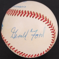 Gerald Ford Signed OAL Baseball (JSA ALOA)