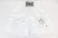 "Roy Jones Jr. Signed Everlast Boxing Trunks Inscribed ""78-85 Champ"" (PSA COA)"