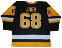 Jaromir Jagr Signed Penguins Jersey (TSE COA & PSA COA)