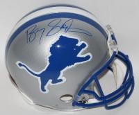 Barry Sanders Signed Lions Full-Size Authentic Pro-line Helmet (Steiner COA)