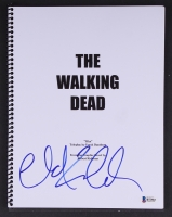 "Chad L. Coleman Signed ""The Walking Dead"" Pilot Script (Beckett COA)"
