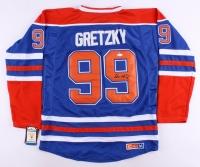 Wayne Gretzky Signed Oilers Captain Jersey (JSA LOA)