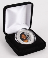 Kawhi Leonard Spurs Silver Medallion from Highland Mint at PristineAuction.com