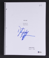 "Dustin Hoffman Signed ""Rain Man"" Full Movie Script (Beckett COA)"