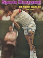 "Jimmy Connors Signed 8"" x 10.5"" Sports Illustrated Magazine Page (JSA ALOA)"