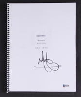 "Mark Wahlberg Signed ""Transformers 4"" Full Movie Script (Beckett COA)"